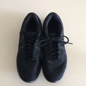 Shoes - All black Nike's